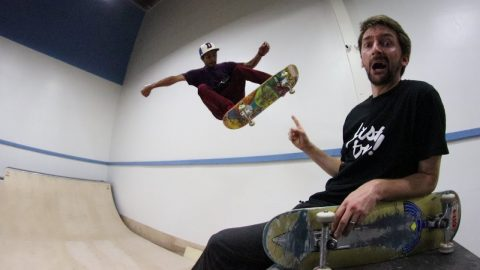 BRAILLE HOUSE MINI RAMP SESSION - Braille Skateboarding