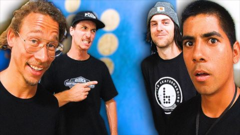 BRAILLE VS NEEN WILLIAMS & PAUL HART | Braille Skateboarding