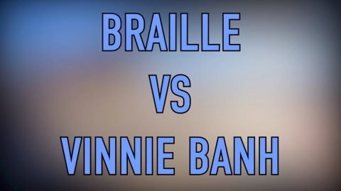 BRAILLE VS VINNIE BANH : FULL PARK GAME OF SKATE | Vinh Banh