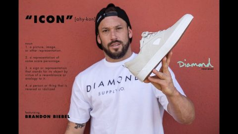 "Brandon Biebel Diamond Footwear ""ICON Part"" - Diamond Supply"