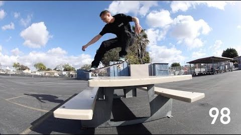 Brandon Westgate: 100 Table Ollies In The New Balance Numeric NM913 | CCS