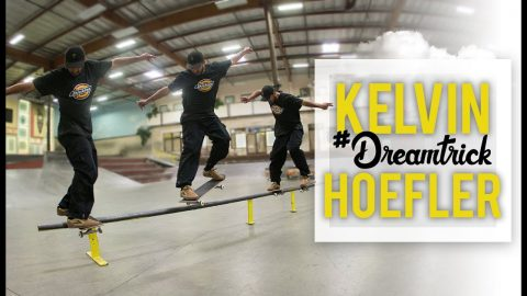 Brazilian Olympian Kelvin Hoefler's #DreamTrick Seems Impossible | The Berrics