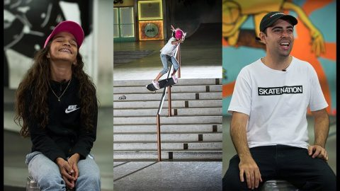 Brazil's RAYSSA LEAL: An 11-Year-Old Skateboard Prodigy | The Berrics