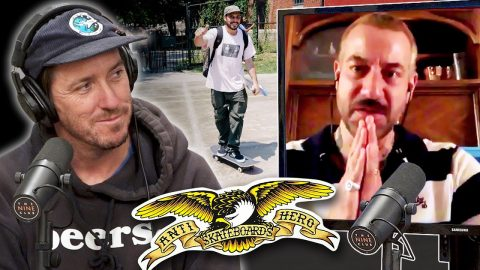 Brian Anderson Shooting His New Antihero Ad And Skating With Fred Gall! | Nine Club Highlights