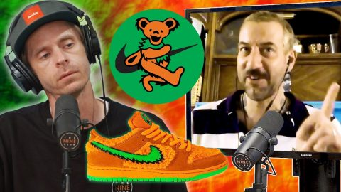 Brian Anderson Skated In The Nike SB Grateful Dead Dunks?! | Nine Club Highlights