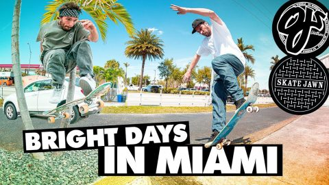 Bright Days in Miami | Gardner, Fred Gall, O'Dwyer and Crew | OJ Wheels x Skate Jawn | OJ Wheels