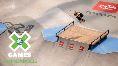 Brighton Zeuner wins Women's Skateboard Park gold | X Games Minneapolis 2018 | X Games