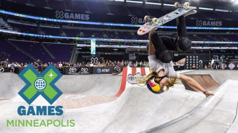 Brighton Zeuner wins Women's Skateboard Park gold | X Games Minneapolis 2017 - X Games