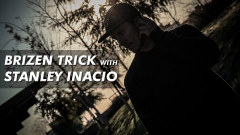 Brizen Trick with Stanley Inacio - Half cab Noseslide 270 out - Brizen Videos