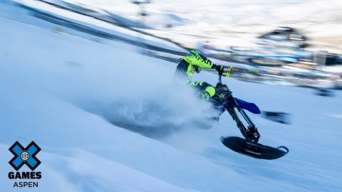 Brock Hoyer's Snow Bike Goals | X Games Aspen 2020 | X Games