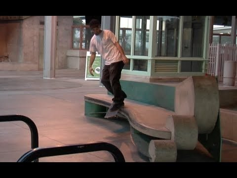Brodie Penrod bs Smith Tre Flip Compton Ledge Raw Uncut - E. Clavel