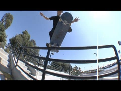 Brodie Penrod Gap to Out Rail Warm Up Tricks Raw - E. Clavel