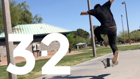 BS 360 720 POP SHOV'IT | RECAP ROUND 32 | Global Game of Skate
