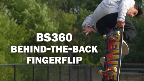BS360 Behind-The-Back Fingerflip: Jesse Cera || ShortSided