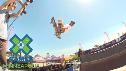 Bucky Lasek places first at X Games Vert Qualifier - X Games