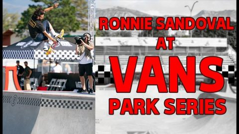 Build It and They Will Skate | Ronnie Sandoval at Vans Park Series | The Berrics