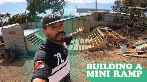 Building A Mini Ramp! | MannysWorld