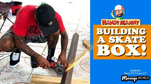 BUILDING A SKATE BOX! - MannysWorld