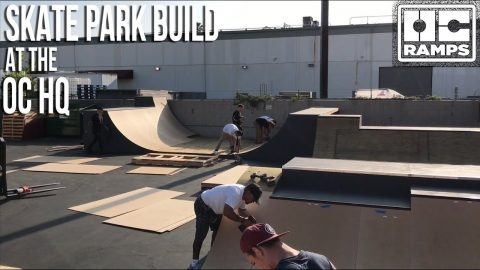 Building the OC HQ Skate Park | OC Ramps