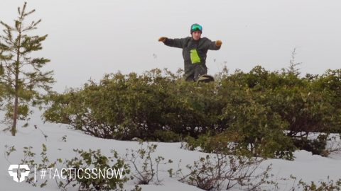 Bush Whackin' at Hoodoo - #Tacticssnow - Tactics Boardshop