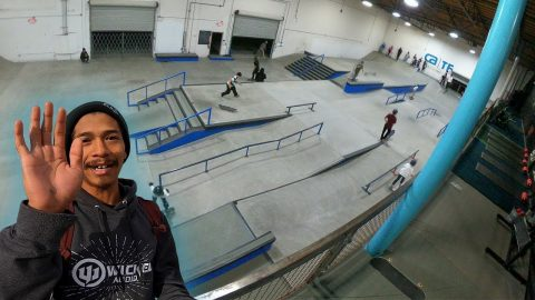 CA SKATEPARK TRAINING FACILITY! | MannysWorld