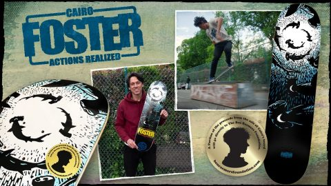 """Cairo Foster """"Hammerhead"""" Actions REALized 