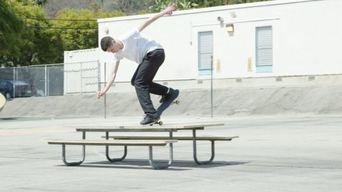 Cairo Foster, Pete Eldridge, Frankie Spears and a Picnic Table | thejoeface1