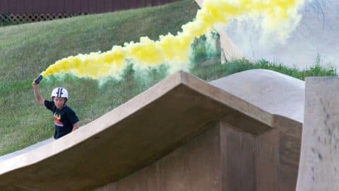 Camp Woodward Season 8 - EP17: Smoke Bombs - Woodward Camp