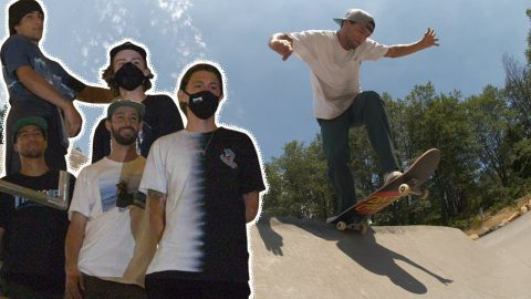 Campfires, Caves and CRUSHING! SC Team Goes To Mt Shasta Park | Santa Cruz Skateboards | Santa Cruz Skateboards