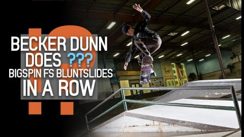 Can Becker Dunn Bigspin Frontside Bluntslide Every Try? | The Berrics