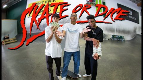 Can Robert Neal And Marcos Montoya Hustle The House? | Skate Or Dice! | The Berrics