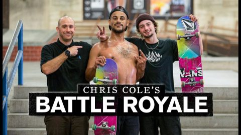 Can The VX Deck Withstand This Board-Breaking Trick? | Battle Royale | The Berrics