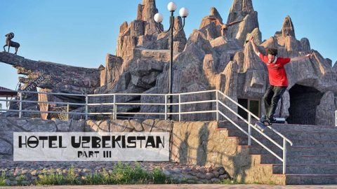Can You Skate The Silk Road? | HOTEL UZBEKISTAN Part 3 | Red Bull Skateboarding