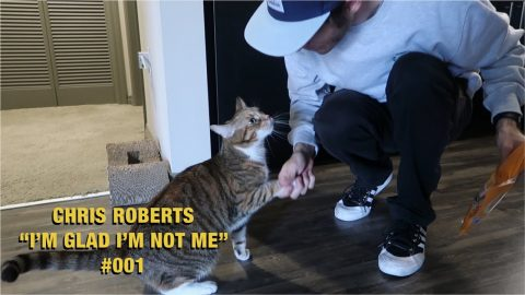 "Can your cat shake hands? | Chris Roberts ""I'm Glad I'm Not Me"" #001 