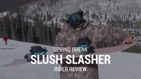 CAPiTA Spring Break Slush Slasher 2019 Snowboard Rider Review - Tactics.com - Tactics Boardshop