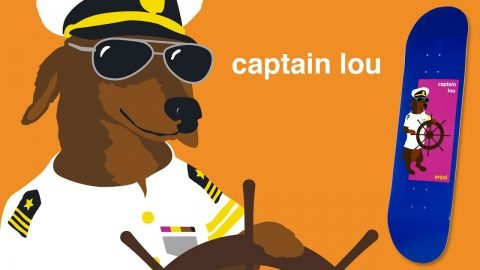 Captain Lou PARTY ANIMAL | enjoi