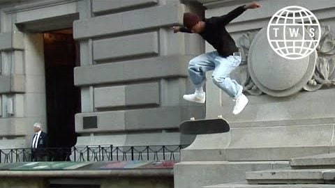 Carl Aikens, CWC Part | NYC Skateboarding | TransWorld SKATEboarding