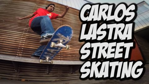 CARLOS LASTRA FILMING FOR HIS NEW PART !!! - A DAY WITH NKA - - Nka Vids