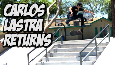 CARLOS LASTRA RETURNS TO SKATE FOR 1 DAY ONLY !!! - NKA VIDS - - Nka Vids Skateboarding