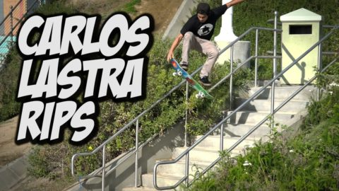 CARLOS LASTRA RIPS UP THE STREETS !!! - A DAY WITH NKA - Nka Vids