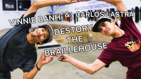 CARLOS LASTRA & VINNIE BANH DESTROY THE BRAILLEHOUSE | Vinh Banh