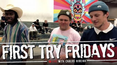 Carlos Ribeiro - First Try Fridays… LIVE! | The Berrics