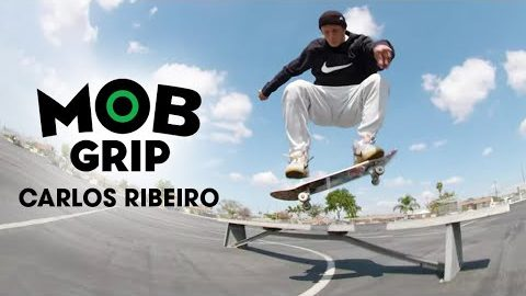 Carlos Ribeiro Taking Advantage Of An Empty L.A. | Mob Grip