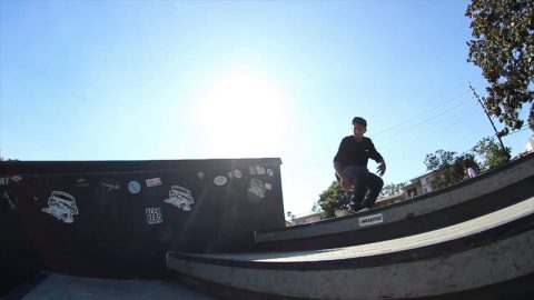 Carlos Vega - Couple Tricks at Stoner - SKATEMOREclick