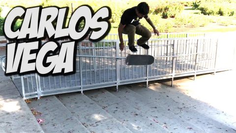 CARLOS VEGA IS BACK AND KILLING IT !!! - NKA VIDS - - Nka Vids Skateboarding