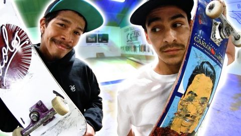 CARLOS VS. VINNIE | MOST REQUESTED GAME OF SKATE - Braille Skateboarding