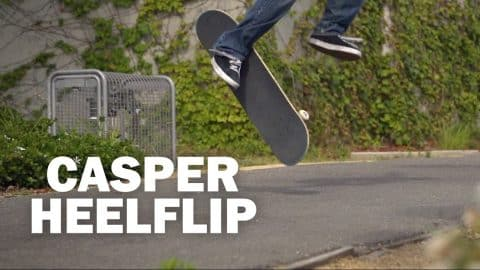 Casper Heelflip: Joe Clark || ShortSided - Brett Novak