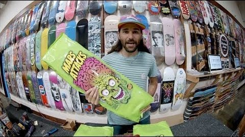 CCS Unboxing Santa Cruz X Mars Attacks Blind Bag Boards - CCS