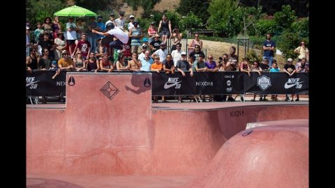 CDF SKATEBOARD 2019 FINALE BOWL BIARRITZ | Commission Skateboard