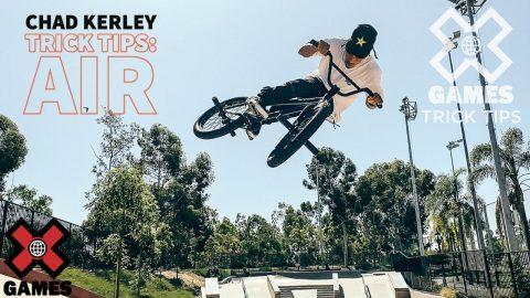 CHAD KERLEY: Quarterpipe Air Trick Tips   World of X Games   X Games